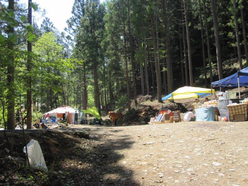 【ゲルレンタル】道志の森キャンプ場Natural High!キャンプイベント出展